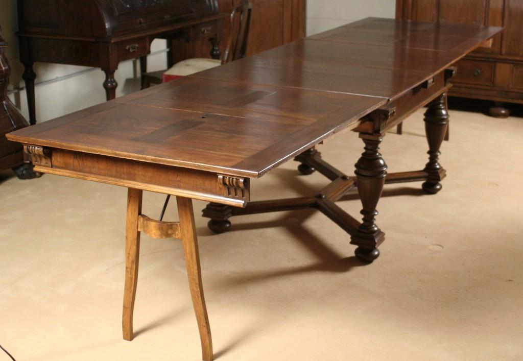 gr nderzeit ausziehtisch antiquit ten frede in m nster restaurierung antiker m bel. Black Bedroom Furniture Sets. Home Design Ideas
