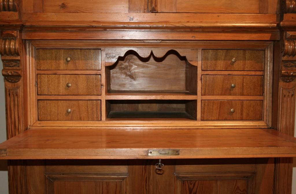 schreibschrank gr nderzeit antiquit ten frede in m nster restaurierung antiker m bel. Black Bedroom Furniture Sets. Home Design Ideas