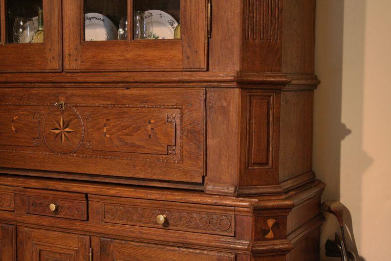 vitrinenschrank antiquit ten frede in m nster restaurierung antiker m bel. Black Bedroom Furniture Sets. Home Design Ideas